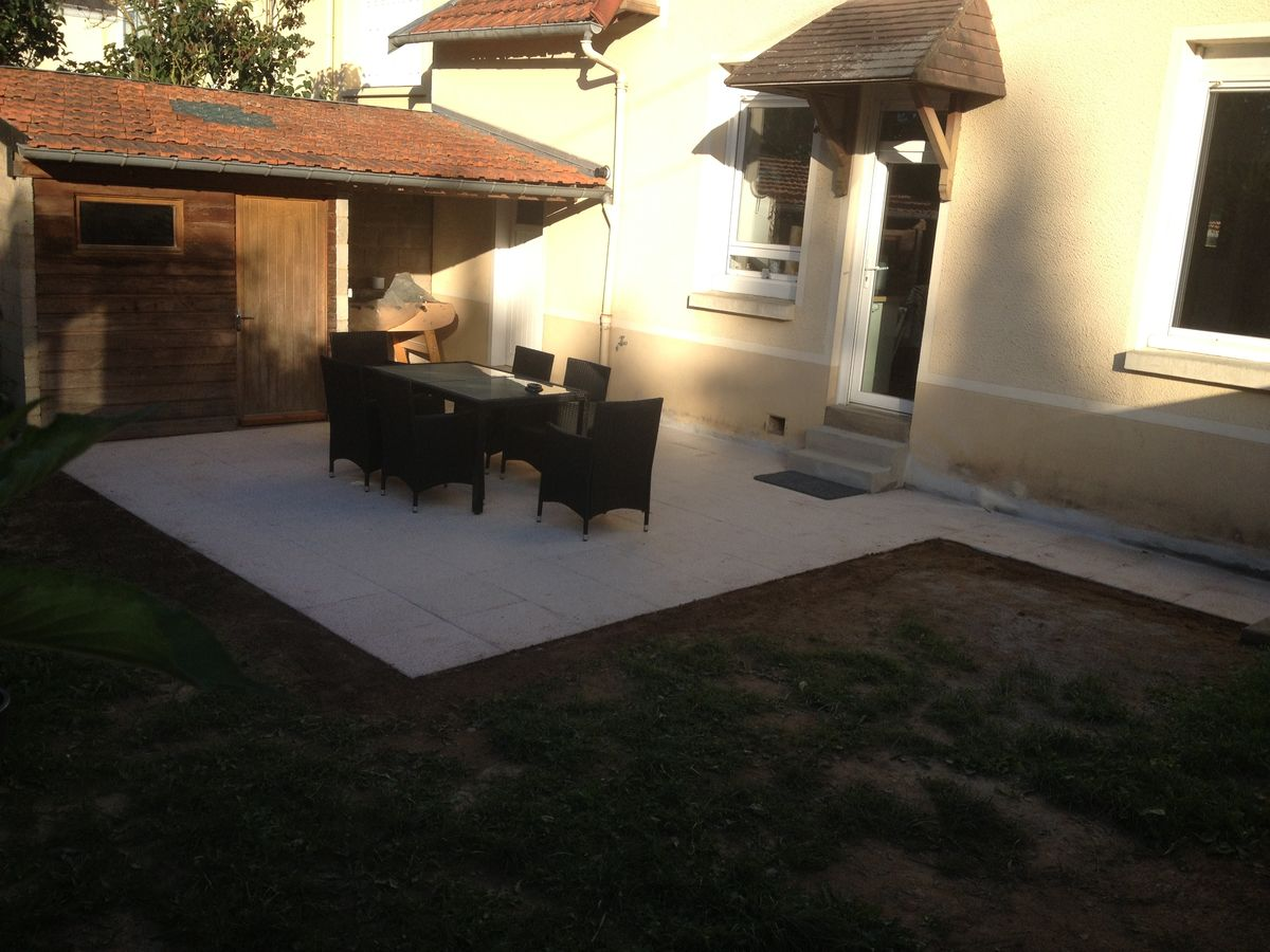 Cr ation terrasses b ton rennes realisations ma onnerie for Chape pour terrasse exterieure