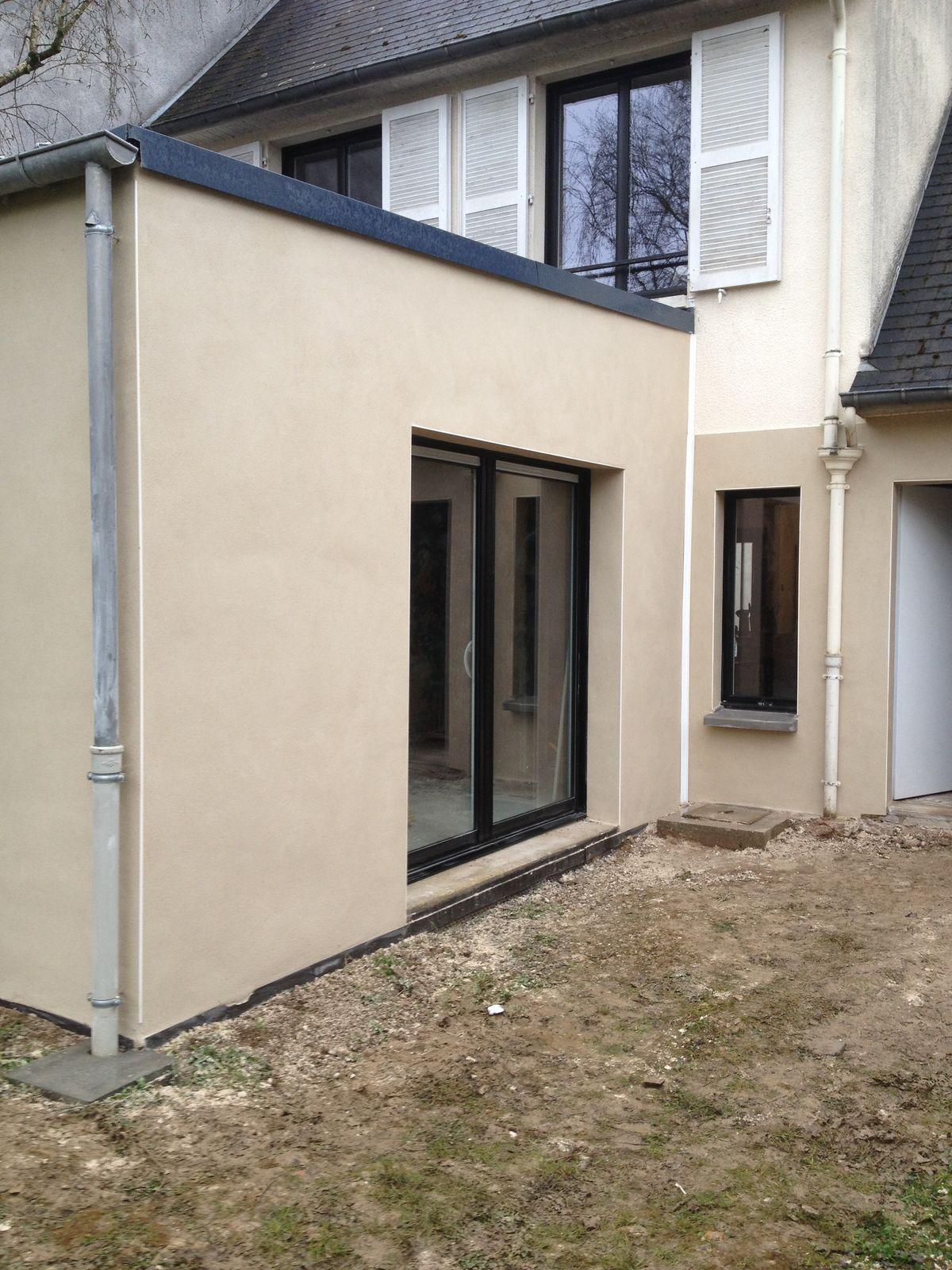 Maison brique ou parpaing perfect gallery of extension for Extension parpaing